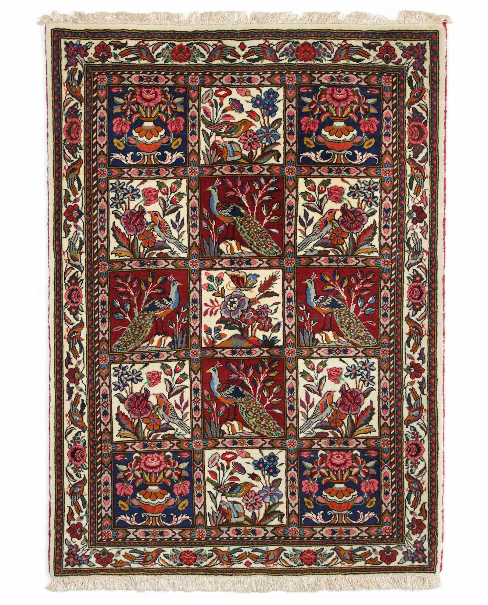 tapis persan bakhtiar 13824 iranian carpet. Black Bedroom Furniture Sets. Home Design Ideas