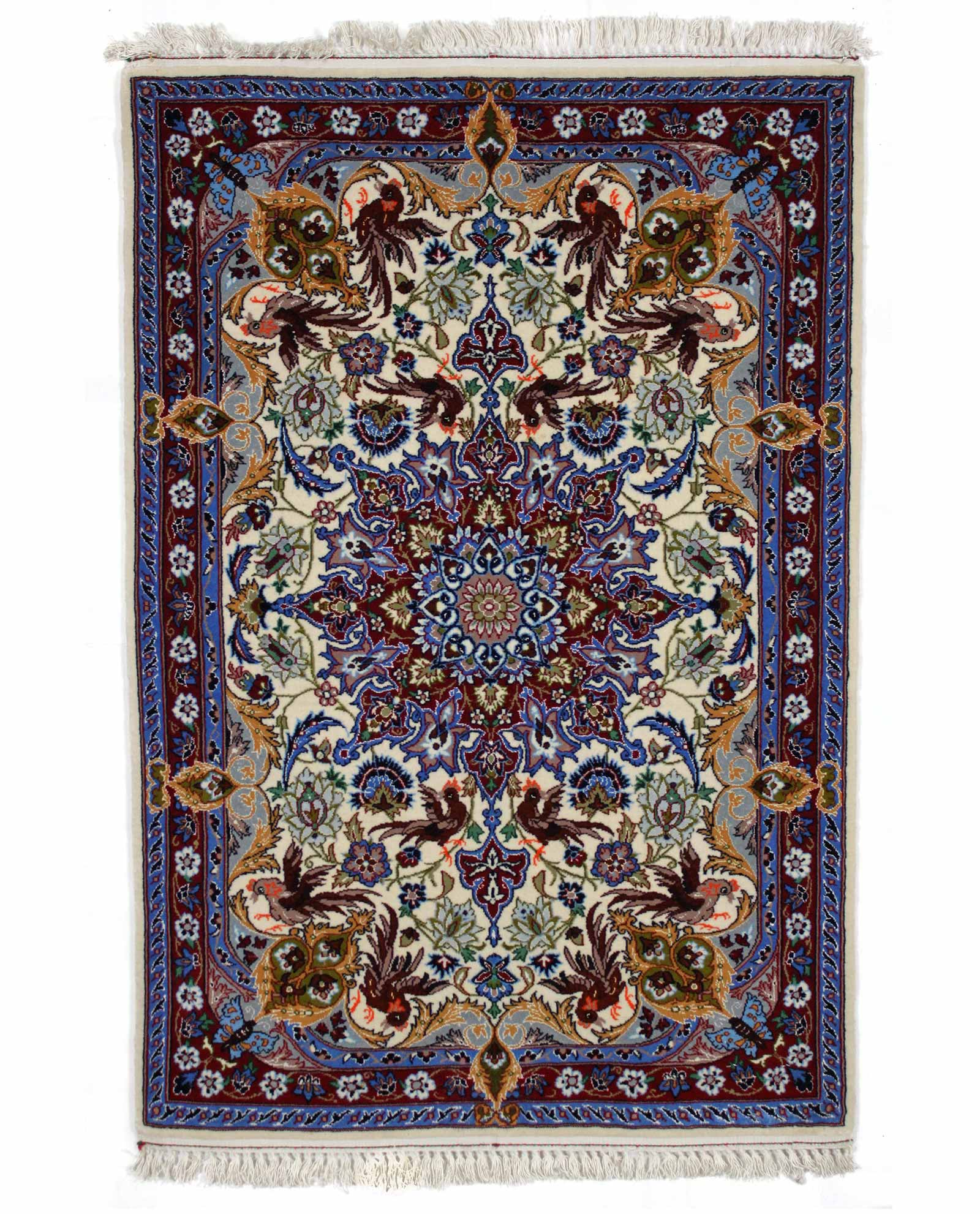 tapis persan isfahan 13859 iranian carpet. Black Bedroom Furniture Sets. Home Design Ideas