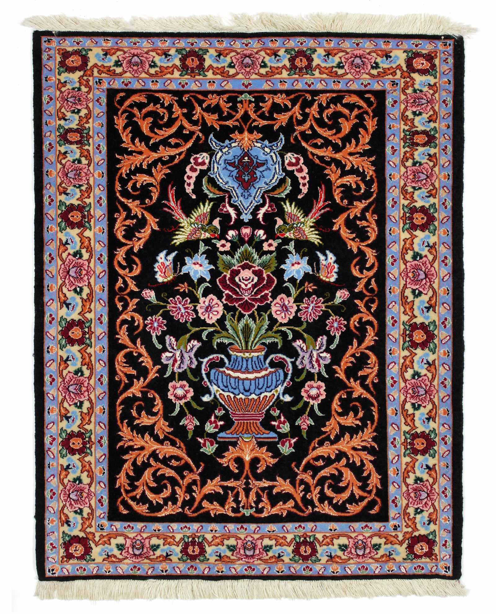 Modern Persian Tabriz Design Rug 44687 Nazmiyal Antique Rugs: Persian Carpet Iranian Amazing Unique Shaped Home Design