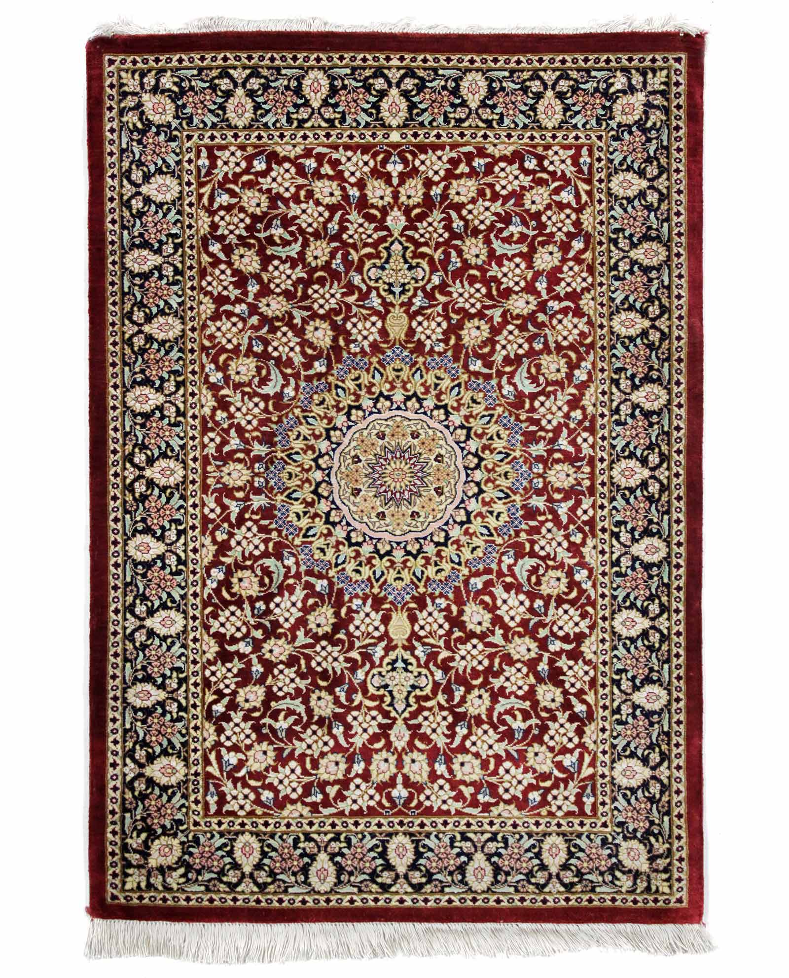 tapis persan ghom soie 14833 iranian carpet. Black Bedroom Furniture Sets. Home Design Ideas