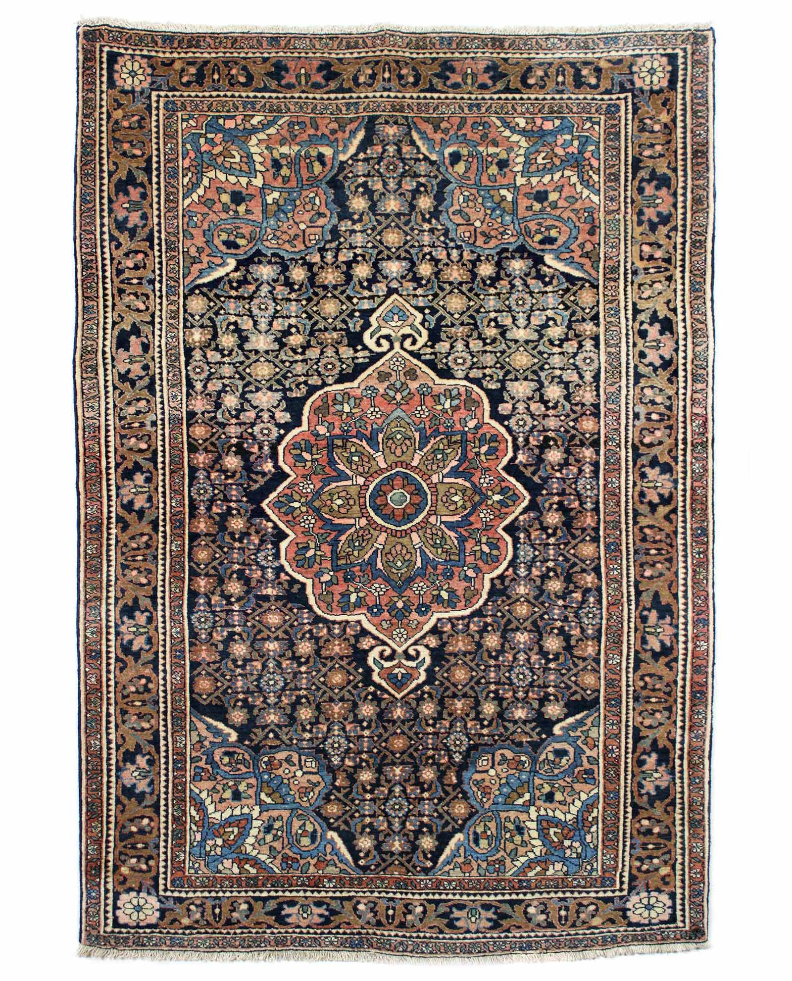 tapis persan bijar 15115 iranian carpet. Black Bedroom Furniture Sets. Home Design Ideas