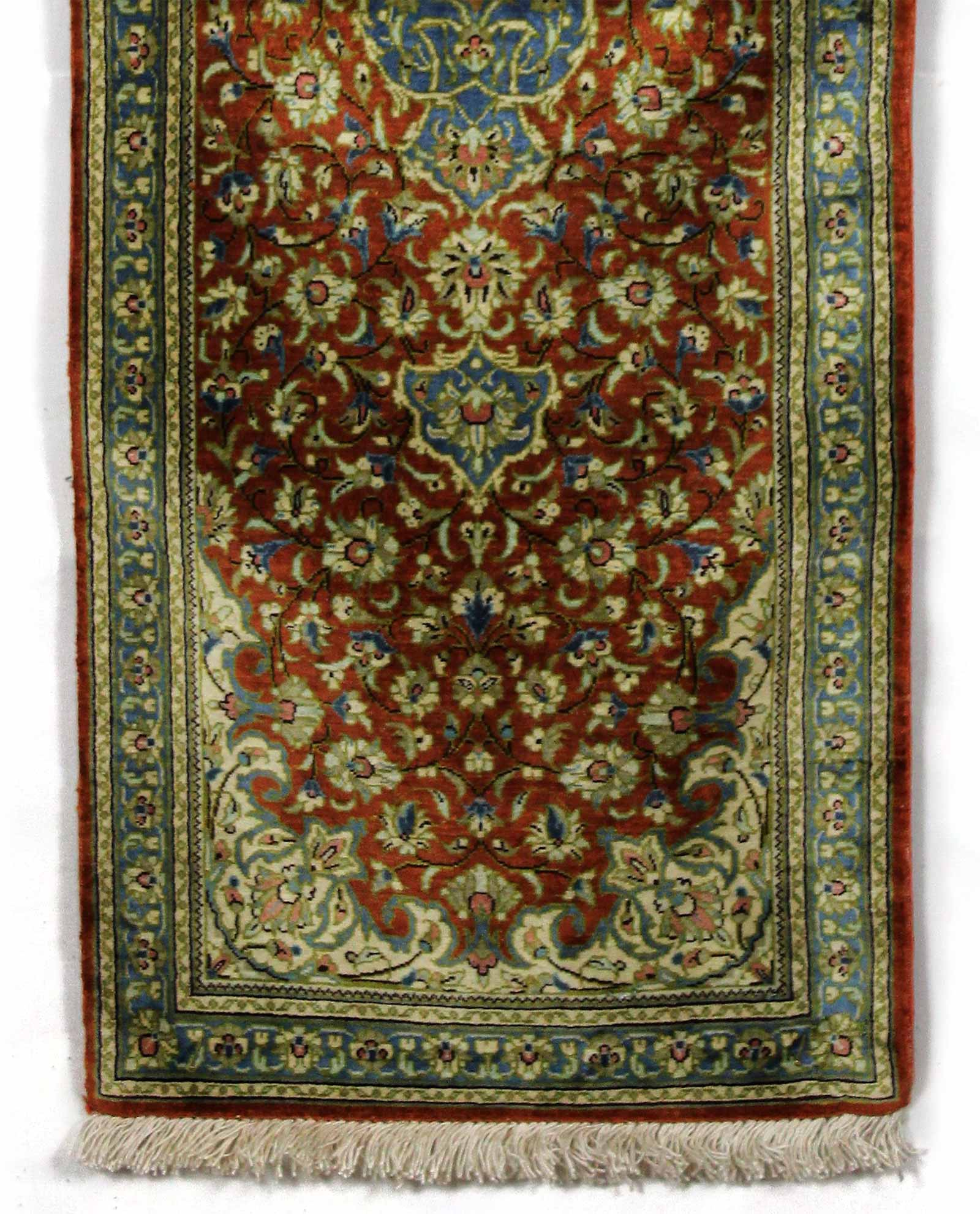 tapis persan ghom soie 13467 iranian carpet. Black Bedroom Furniture Sets. Home Design Ideas