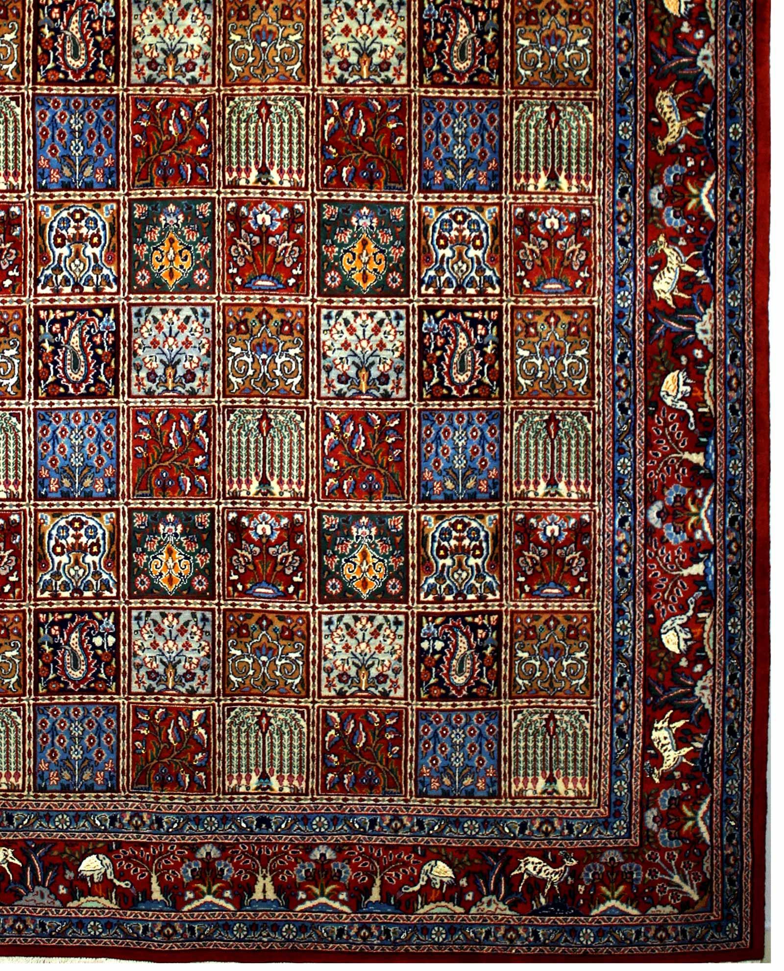 Tapis Persan Moud 14357 Iranian Carpet
