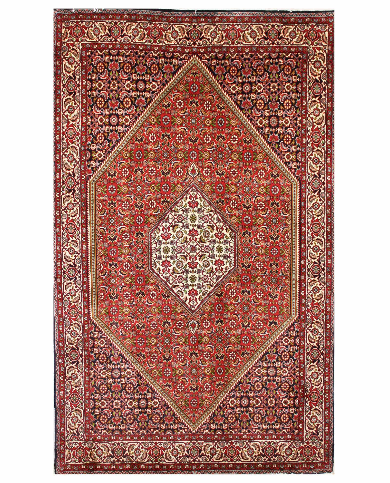 tapis persan bijar 14919 iranian carpet With tapis persan avec canapé convertible haute densité