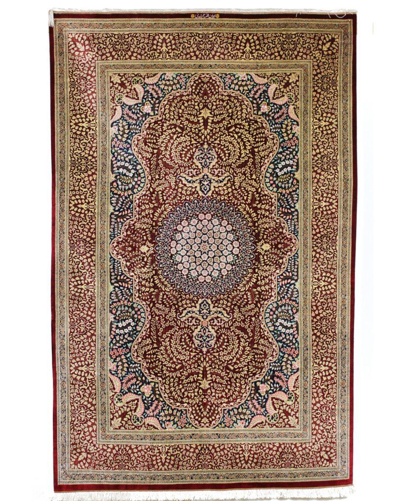 Persian Rug Ghom Silk Iranian Carpet